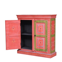 Halifax Hand Painted Solid Wood Storage Cabinet
