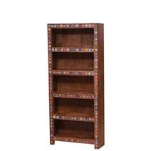 Kahului Reclaimed Wood 5 Shelf Standard Bookcase