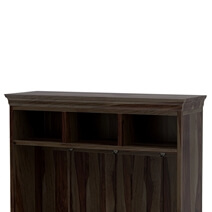 Harrisville Solid Wood 2 Drawer Entryway Hall Tree Bench With Storage