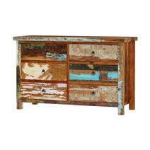 Eunola Reclaimed Wood 4 Piece Bedroom Set