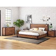 New Orleans Solid Wood 4 Piece Bedroom Set