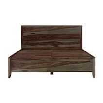 Thornton Rustic Solid Wood Platform Bed