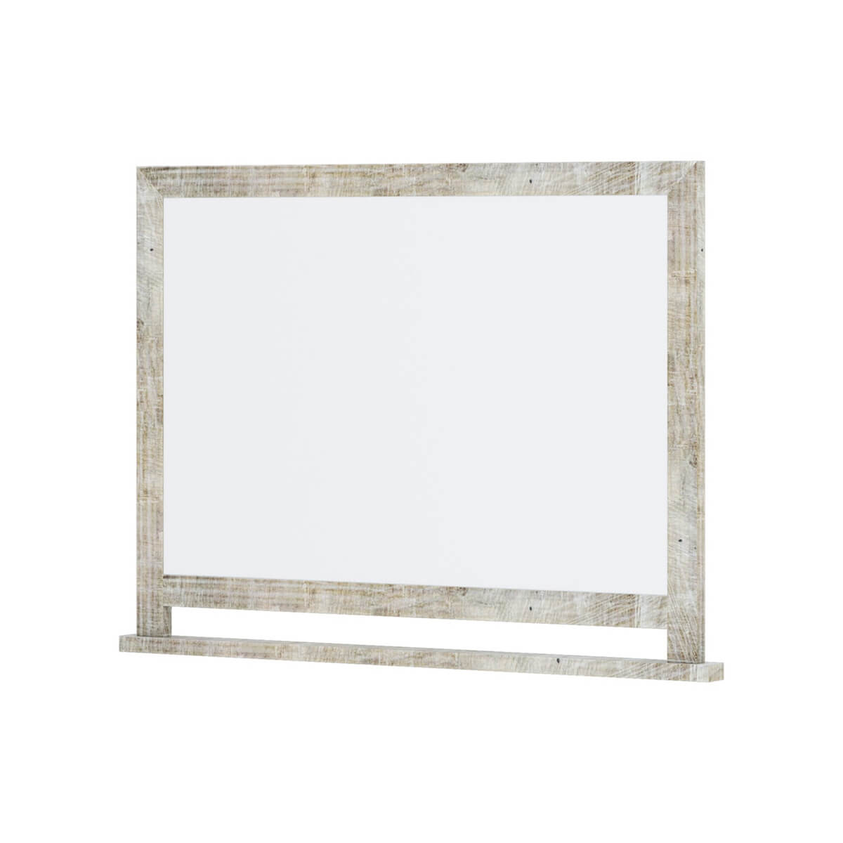 Calistoga Weathered Solid Wood Mirror Frame