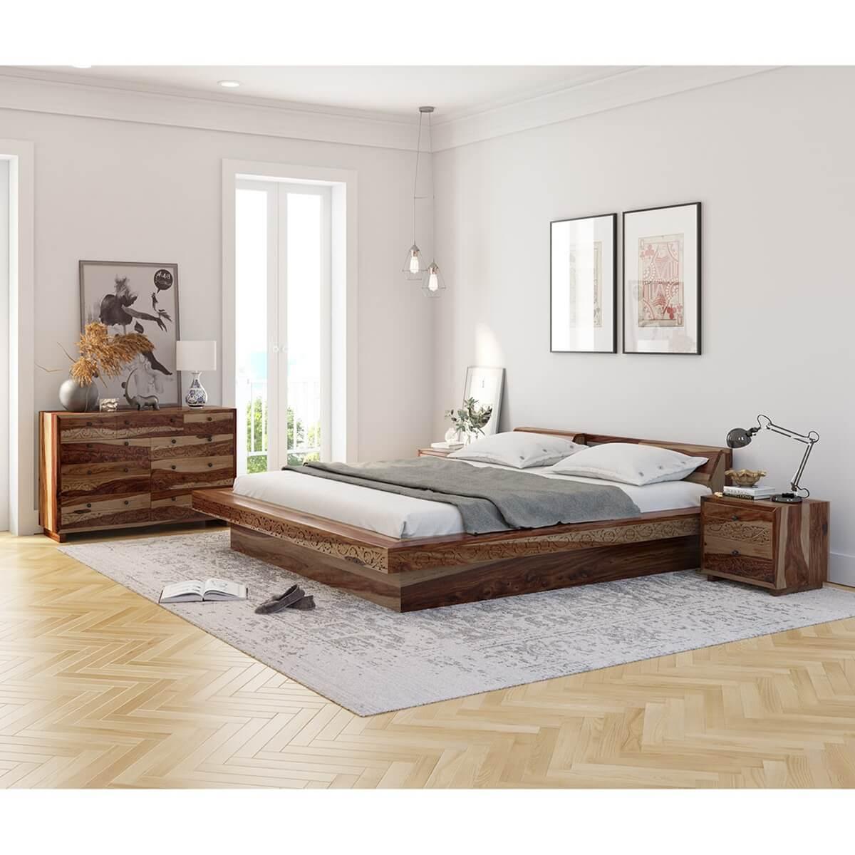 Dallas Ranch 4 Piece Bedroom Set