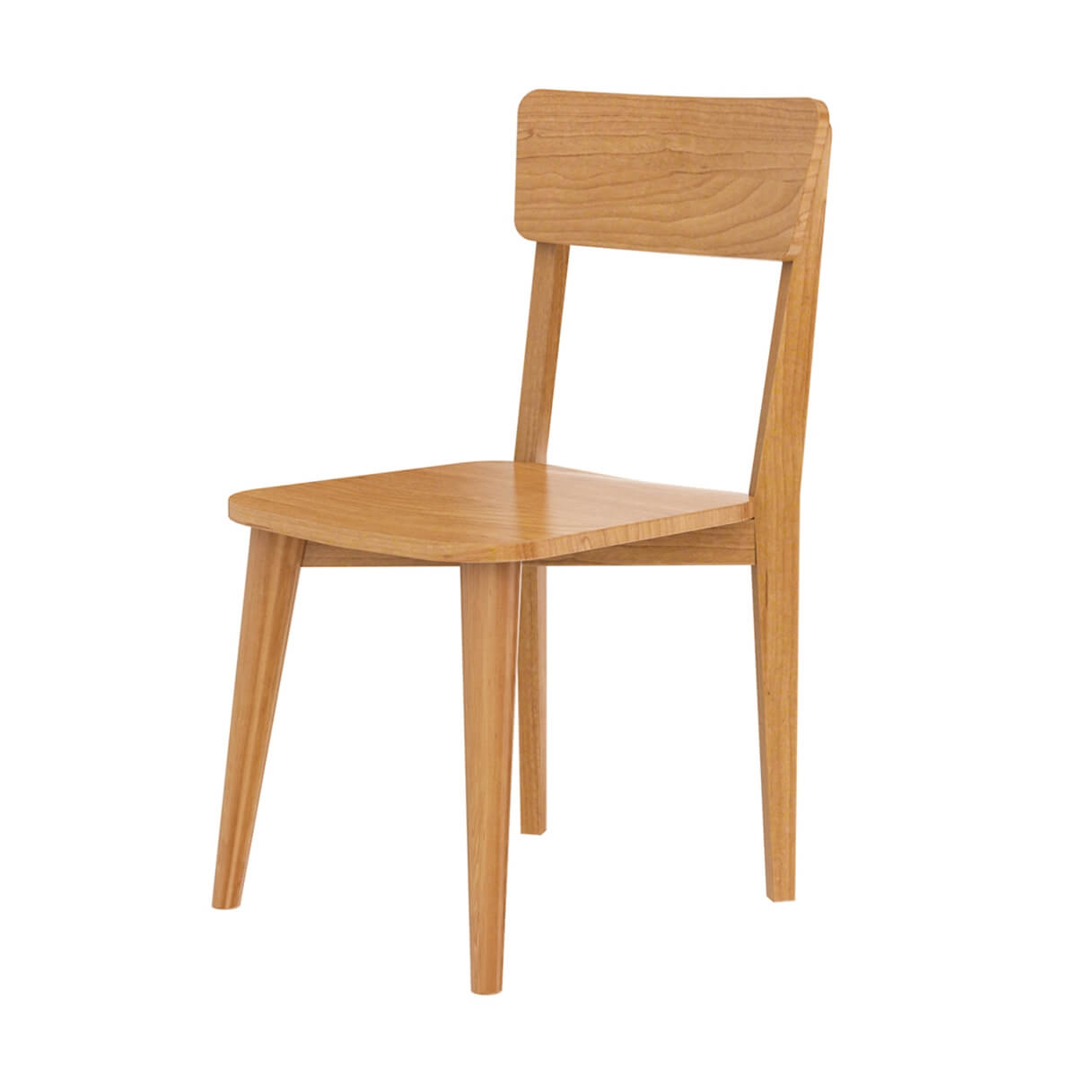 Avondale Teak Wood Modern Style Dining Chair