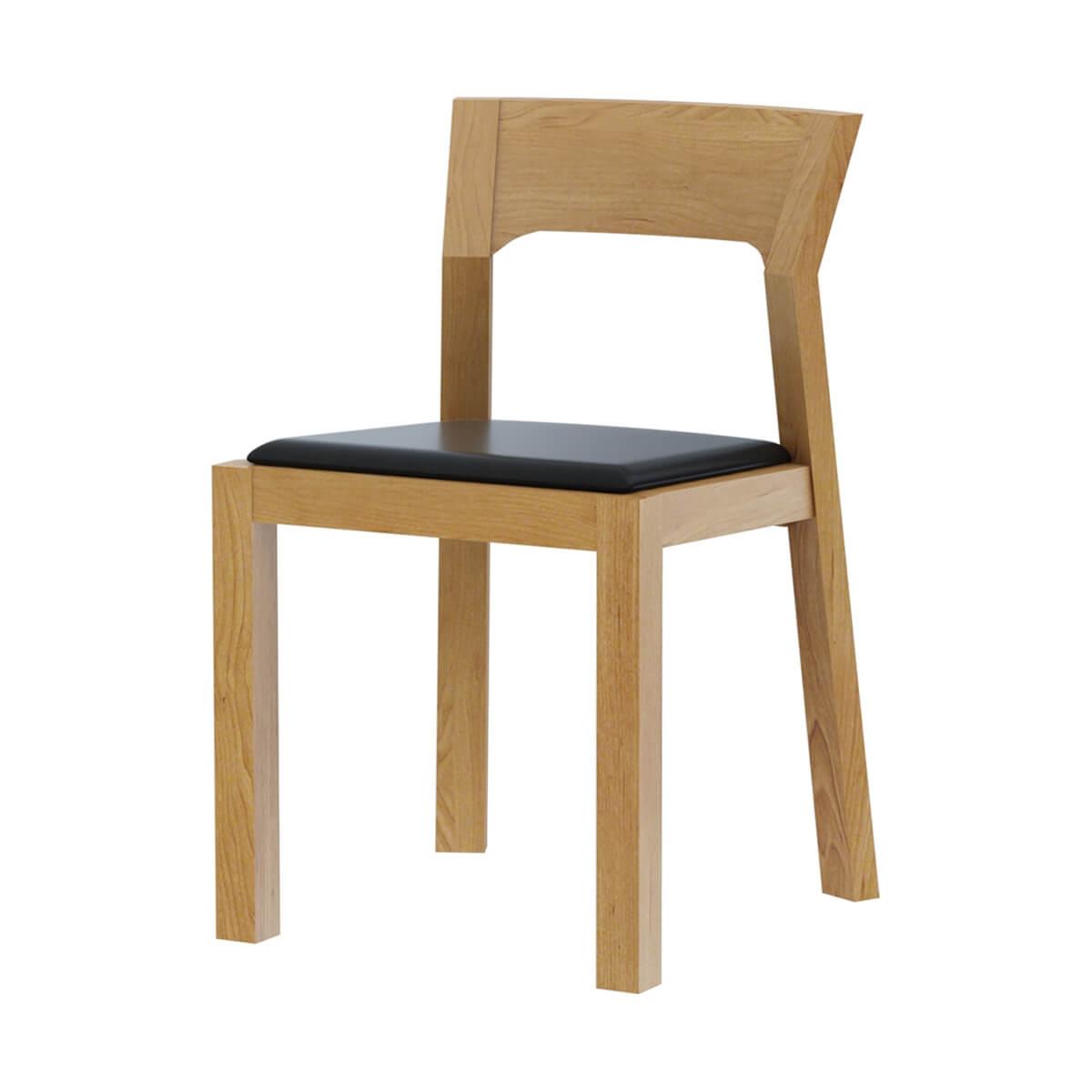 Montecito Teak Wood Modern Round Dining Chair