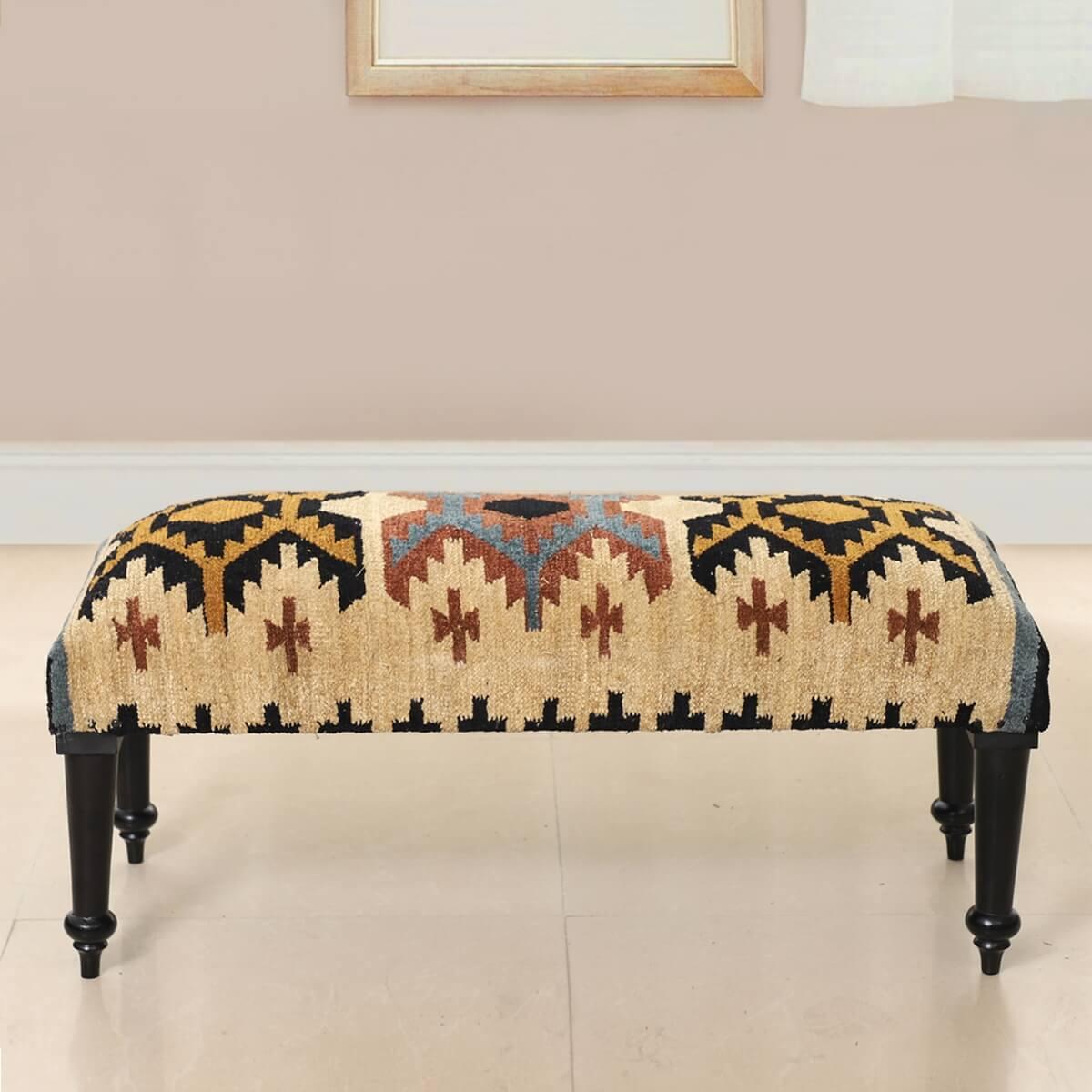 Terrebonne Handmade Upholstered Bench