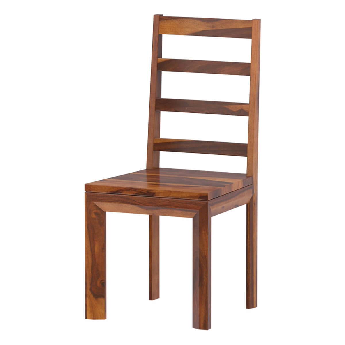 Granada Rustic Solid Wood Ladder-Back Dining Chairs