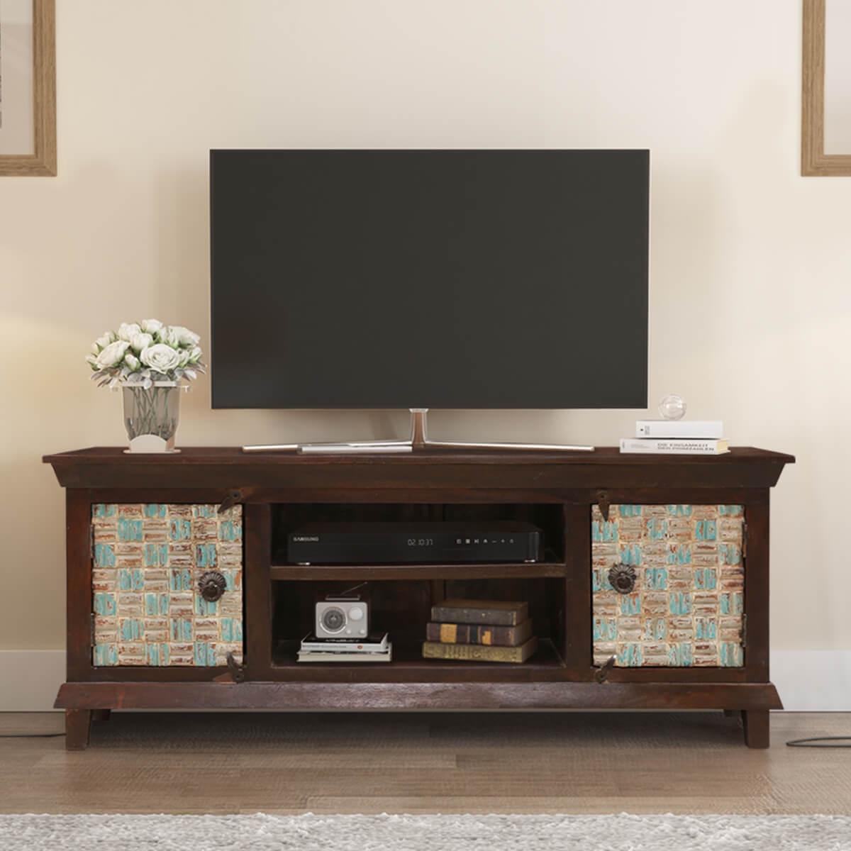 Pretoria Antique Solid Wood TV Media Stand