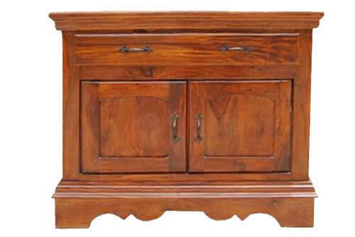 Appalachian Solid Wood Single Drawer Kitchen Storage Cabinet