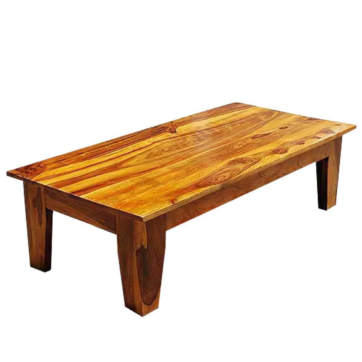 Kenosha Solid Wood Large Rectangle Coffee Table