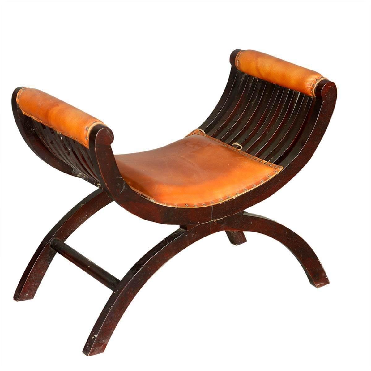 Heritage Chair Stool Arm Vanity Dressing Furniture