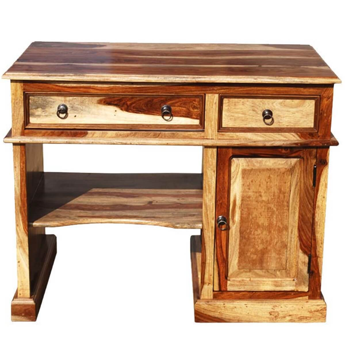 Solid wood computer desk for small space - Desks for small spaces ...
