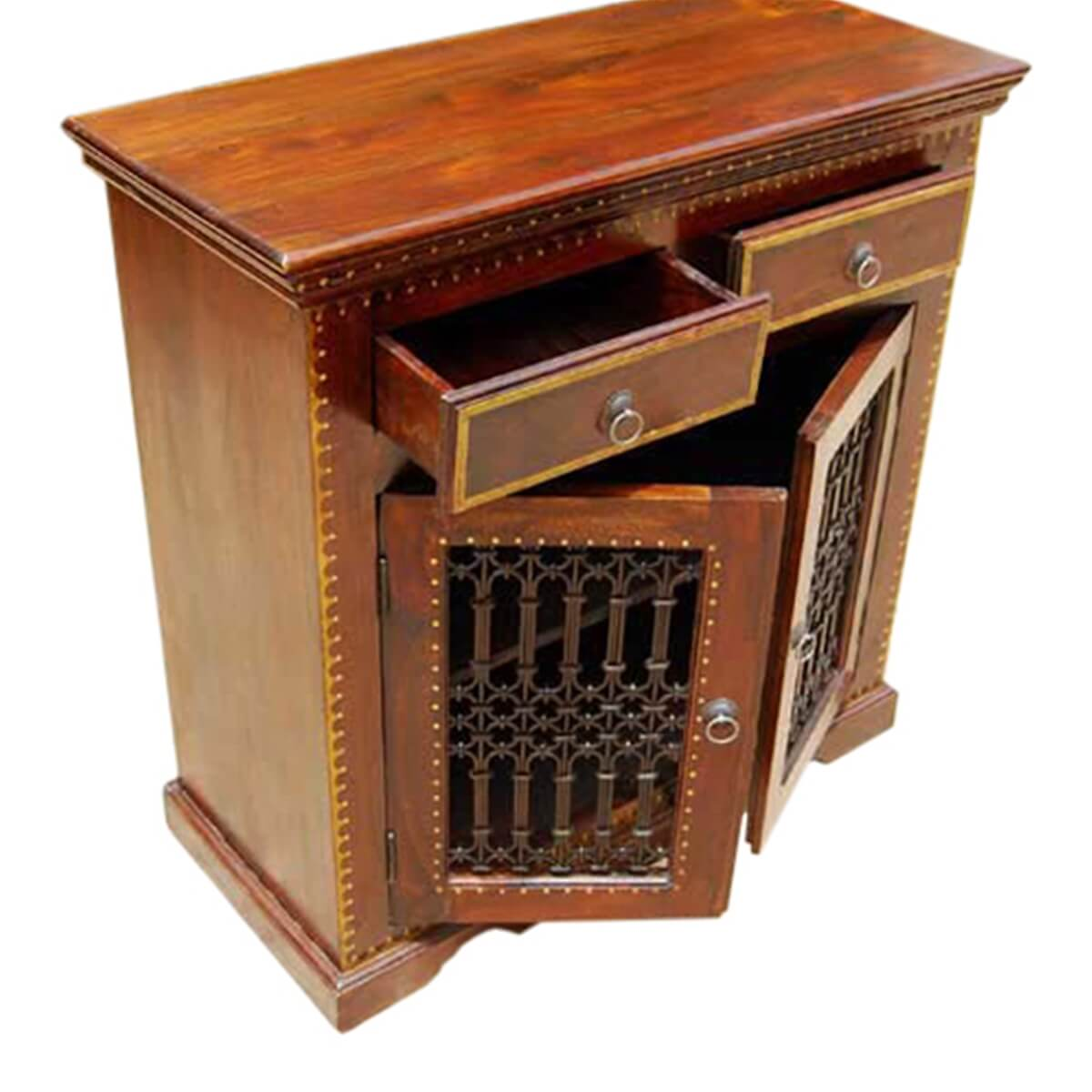 Discount Kitchen Cabinets Philadelphia: Philadelphia Handcrafted Solid Wood 2 Drawer TV Media