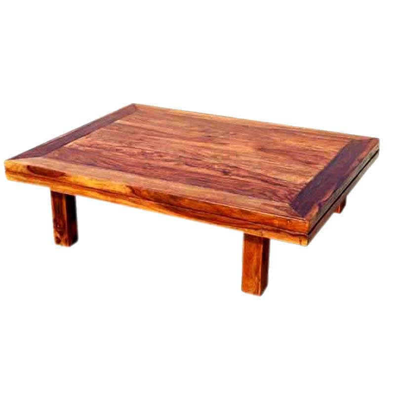 Santa Cruz Traditional Low Height Coffee Table