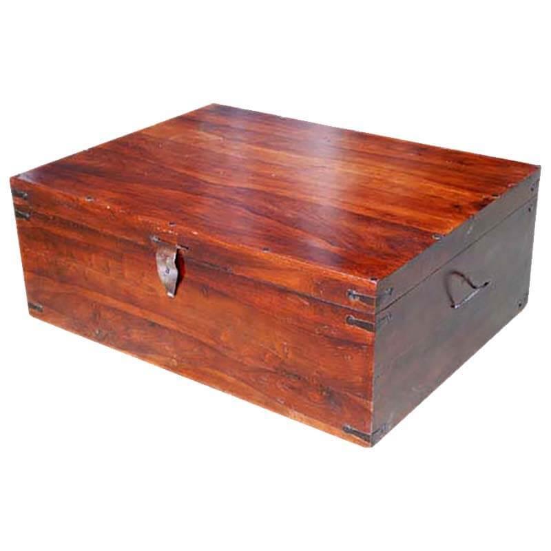 Sierra Nevada Solid Wood Coffee Table Trunk
