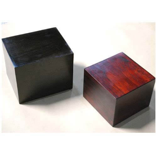 Sierra Nevada Contemporary Hollow Cube Accent Table Set