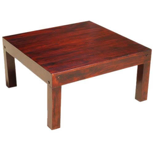 Sierra Nevada Contemporary Square Coffee Table