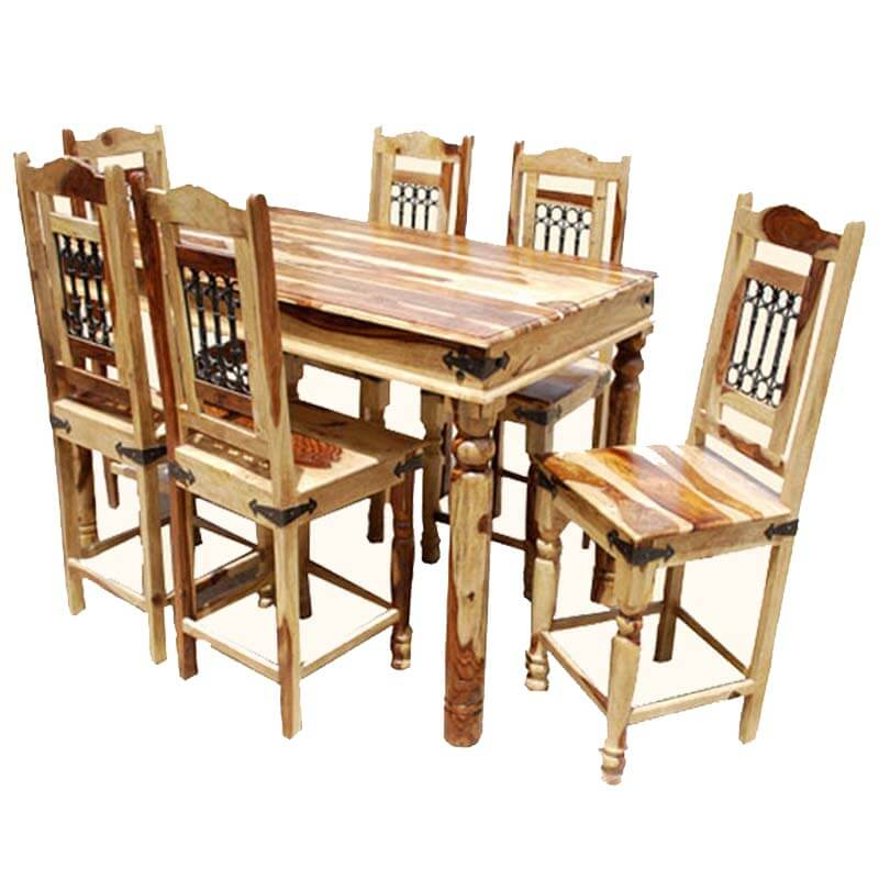Dallas Counter Height Dining Room Table & Chair Set