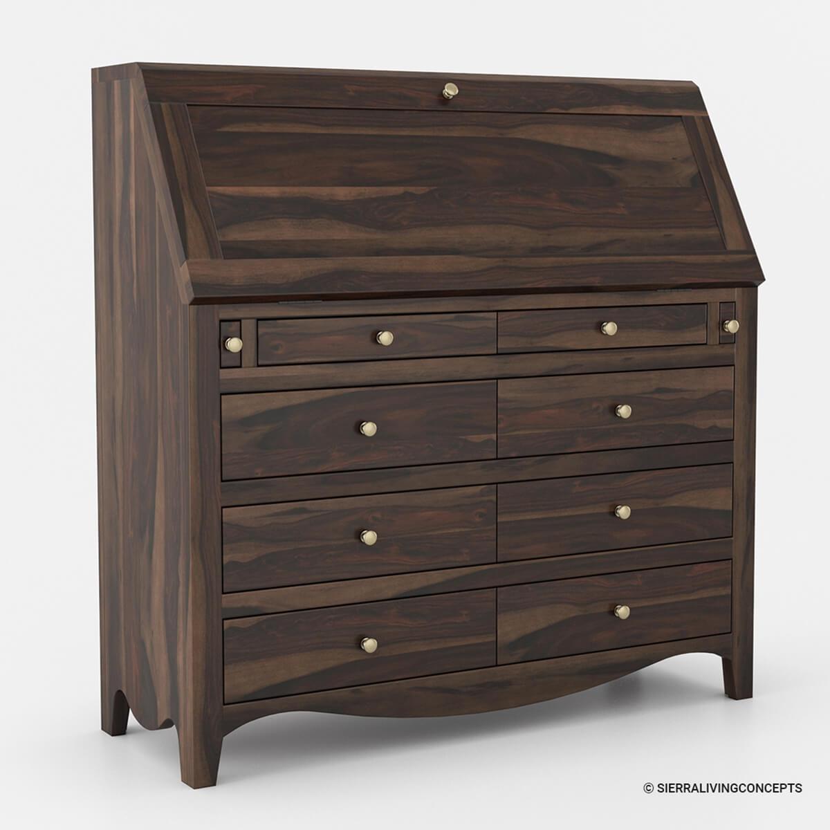 "Handmade Solid Wood Island Units: Philadelphia Solid Wood Handmade 44""Large Drop Front"
