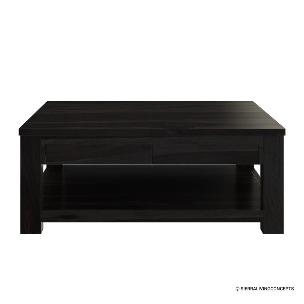 Sensational Glencoe Large Square Coffee Table Solid Wood Contemporary Style Gmtry Best Dining Table And Chair Ideas Images Gmtryco