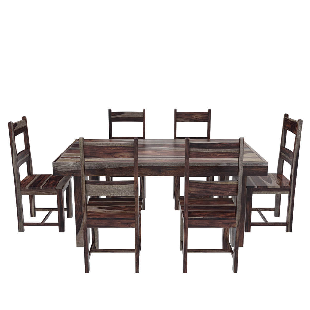 Rustic Chairs For Dining Room: Frisco Modern Solid Wood Casual Rustic Dining Room Table