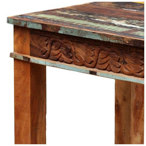 Unique Dining Room Furniture: Unique Reclaimed Wood Rustic Dining Room Table Furniture