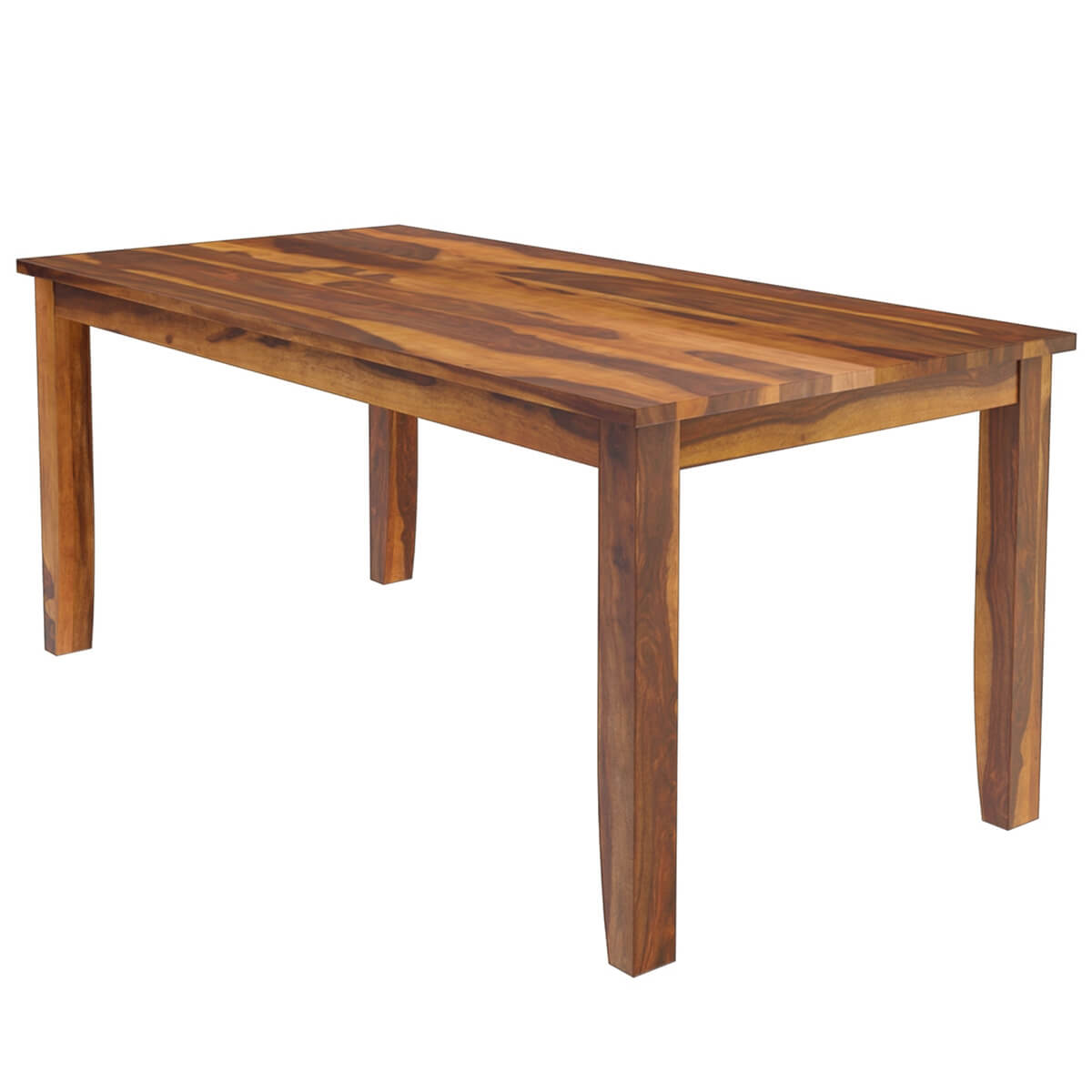 Cariboo Solid Wood Dining Table With Contemporary Tapered Legs