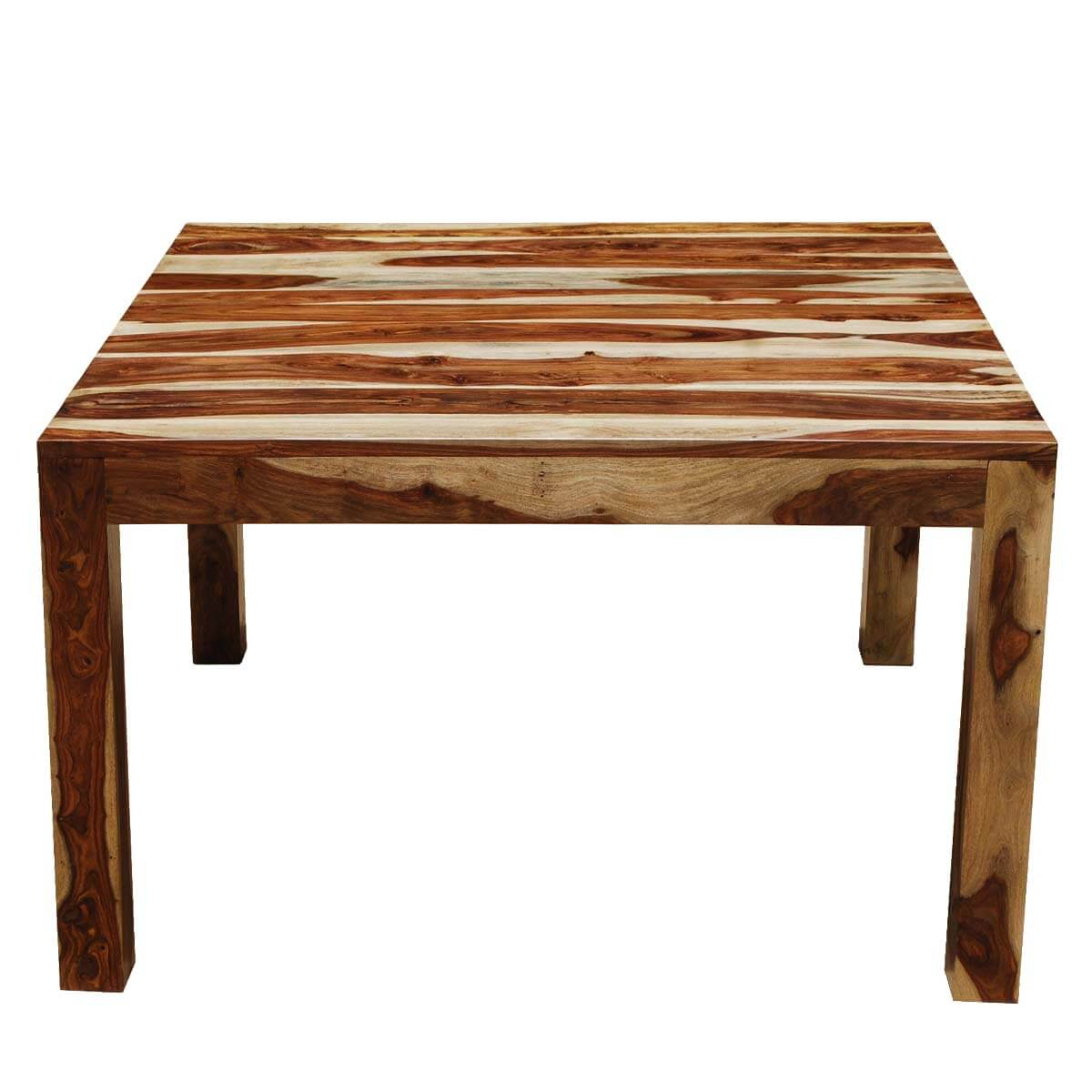 Counter Height Dining Table For 8: Kluane Solid Wood Counter Height Square Dining Table For 8