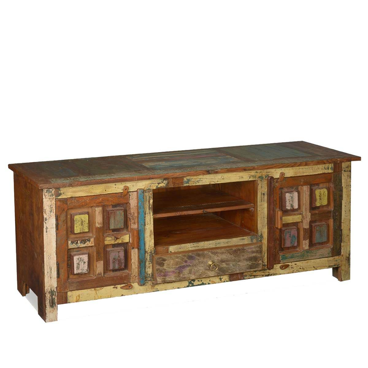save off 7a571 7d3bd Solid Wood Handcrafted Rustic TV Stand Media Console