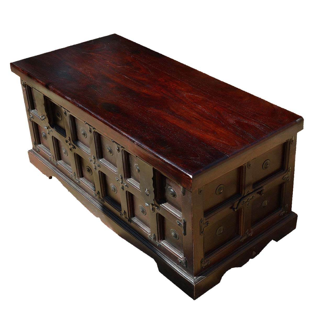 Surprising Beaufort Kokanee Gothic Solid Wood Standing Coffee Table Chest Gmtry Best Dining Table And Chair Ideas Images Gmtryco