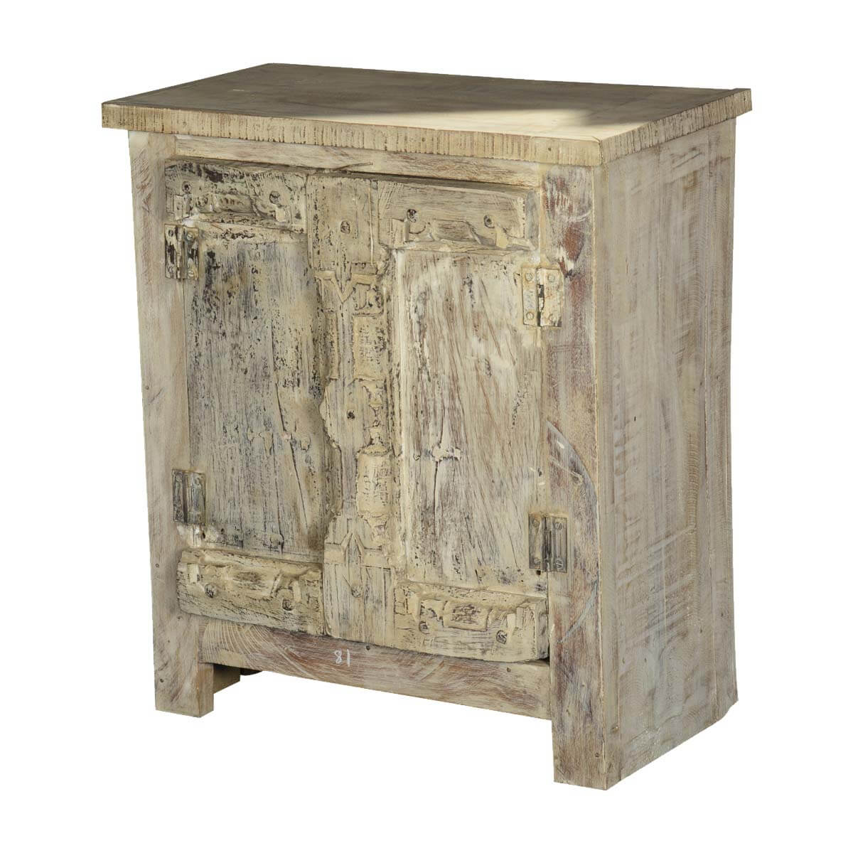 Fleming Winter Reclaimed Wood Accent Storage Cabinet