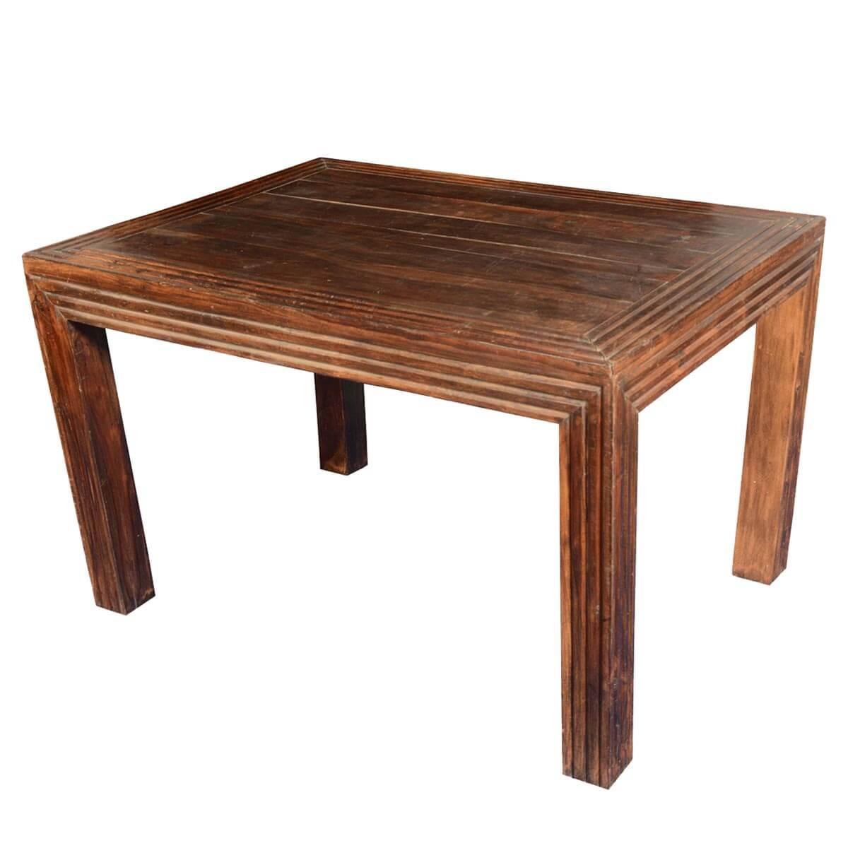 Sierra Rustic Handcrafted Mango Wood Dining Table