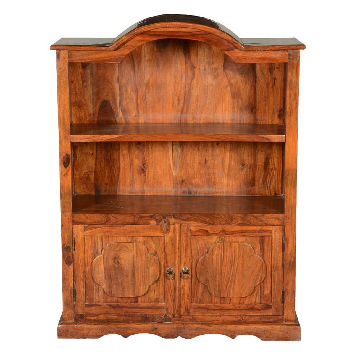 Open Cabinets: Pennsylvania Dutch Solid Wood Open Shelves Display Cabinet