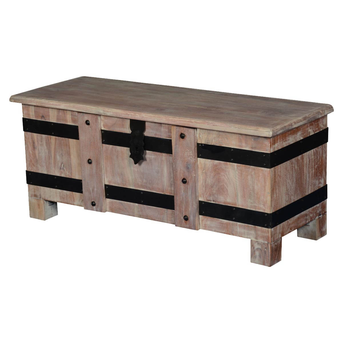 Wondrous Frosted Gothic Mango Wood Standing Coffee Table Chest Gmtry Best Dining Table And Chair Ideas Images Gmtryco