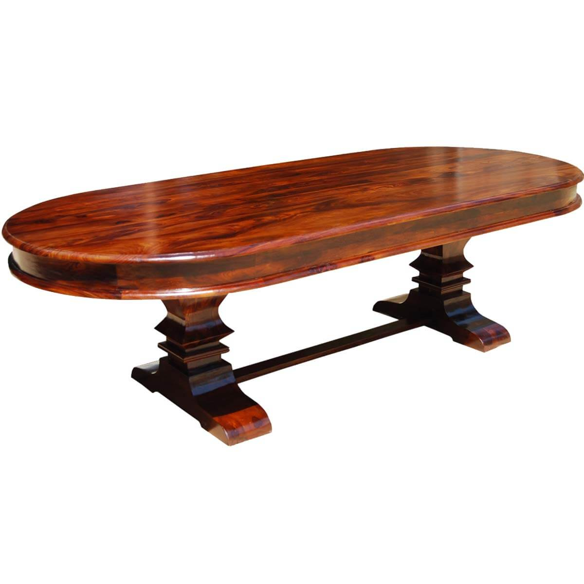View Solid Wood Oval Dining Table Gif