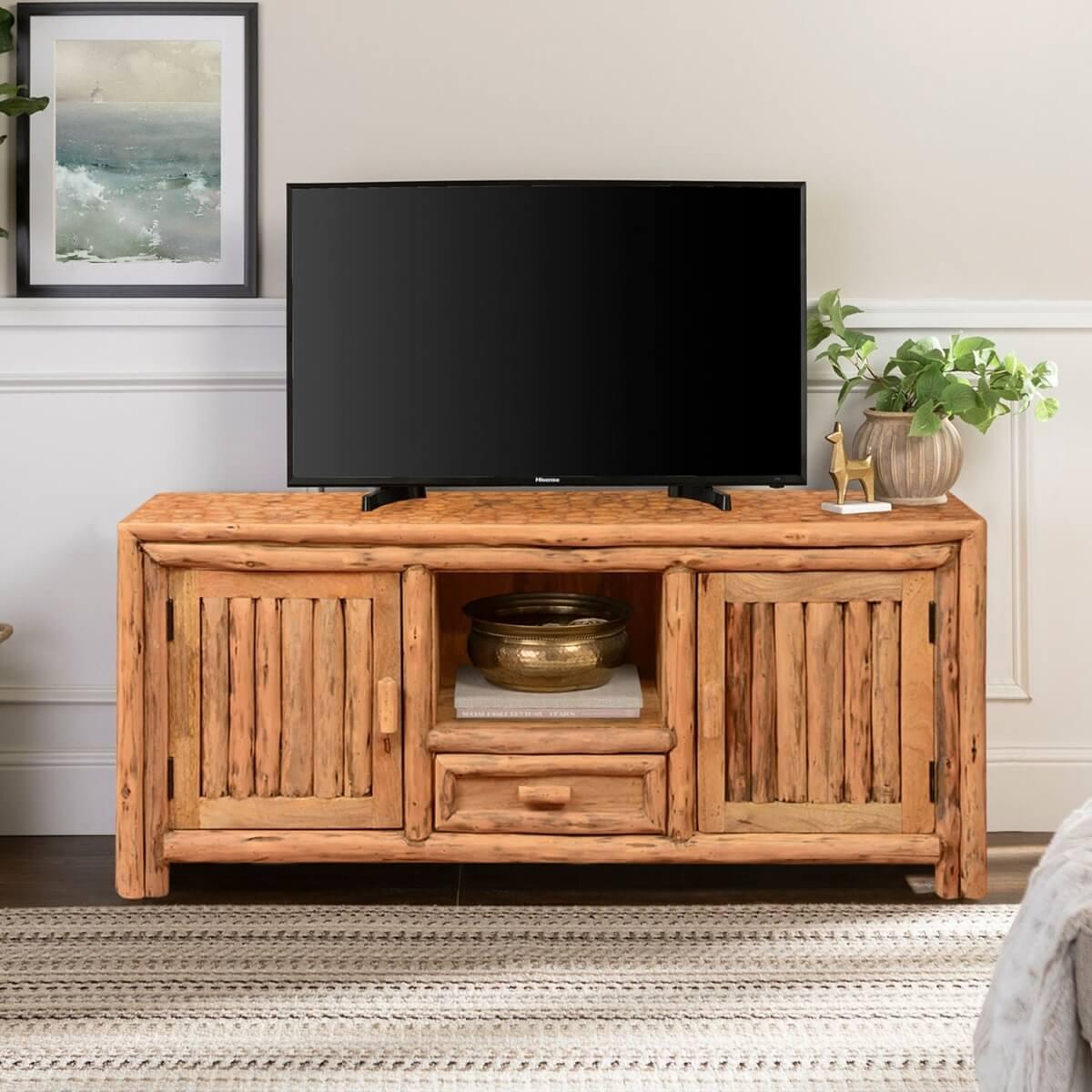 Philadelphia Cedar Lumber Media Console TV Stand