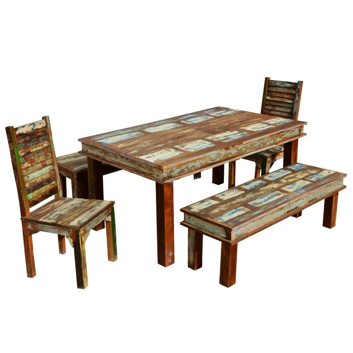 Dining Room Tables With Reclaimed Wood 2