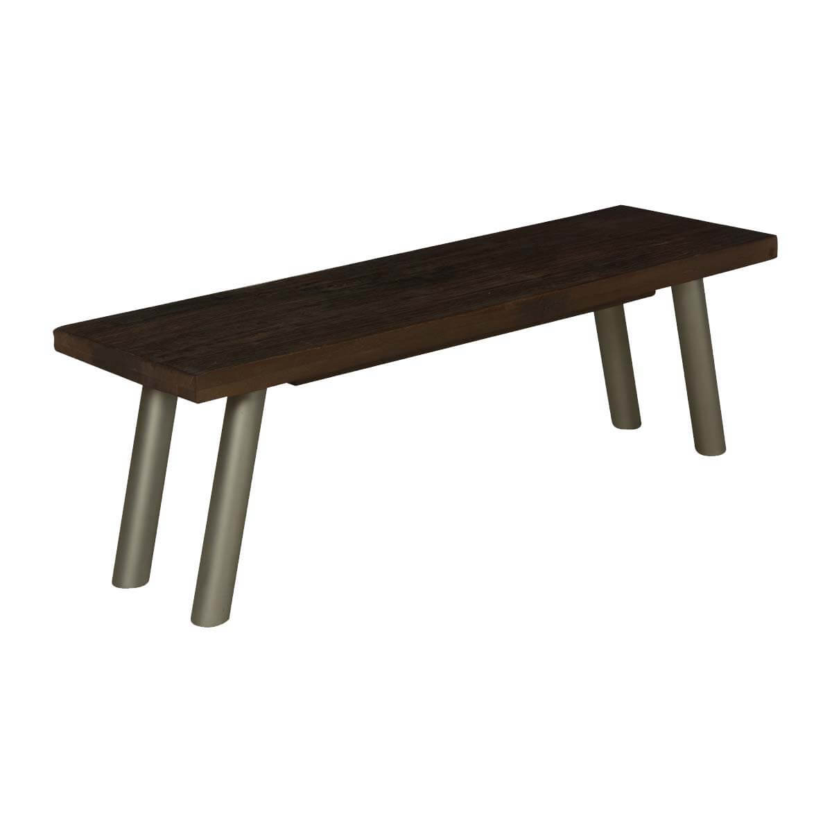 "Modern Frontier Mango Wood & Iron Rustic 55"" Bench"