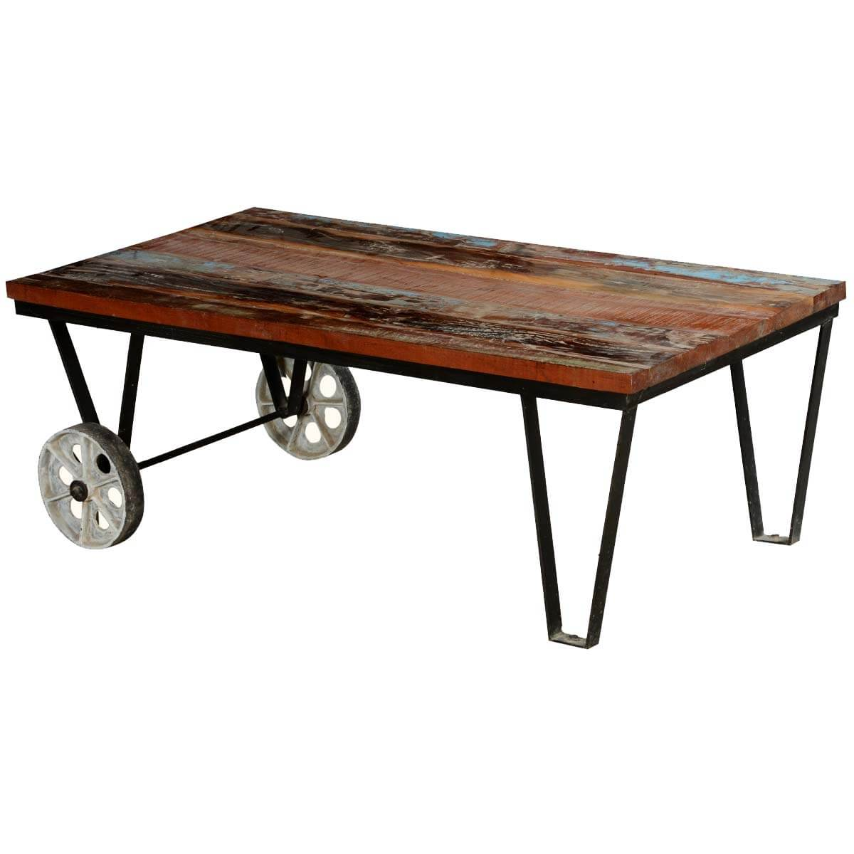 New Style Factory Cart Coffee Table