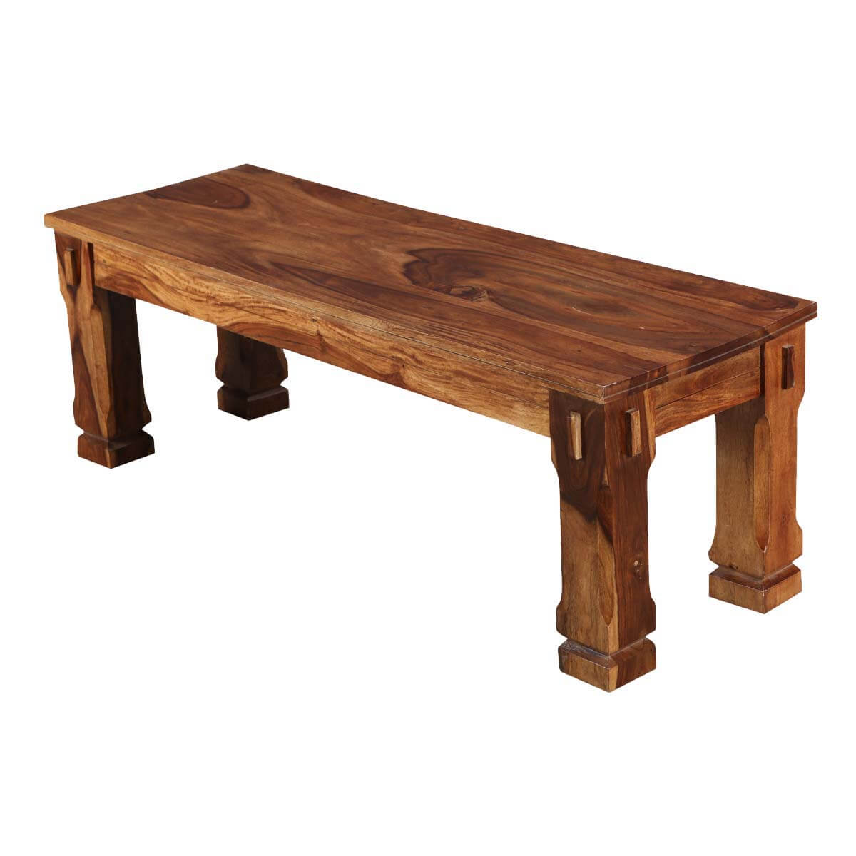 Denver Long Solid Wood Dining Bench