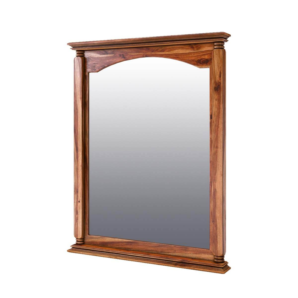 Livingston Solid Wood Rustic Mirror Frame