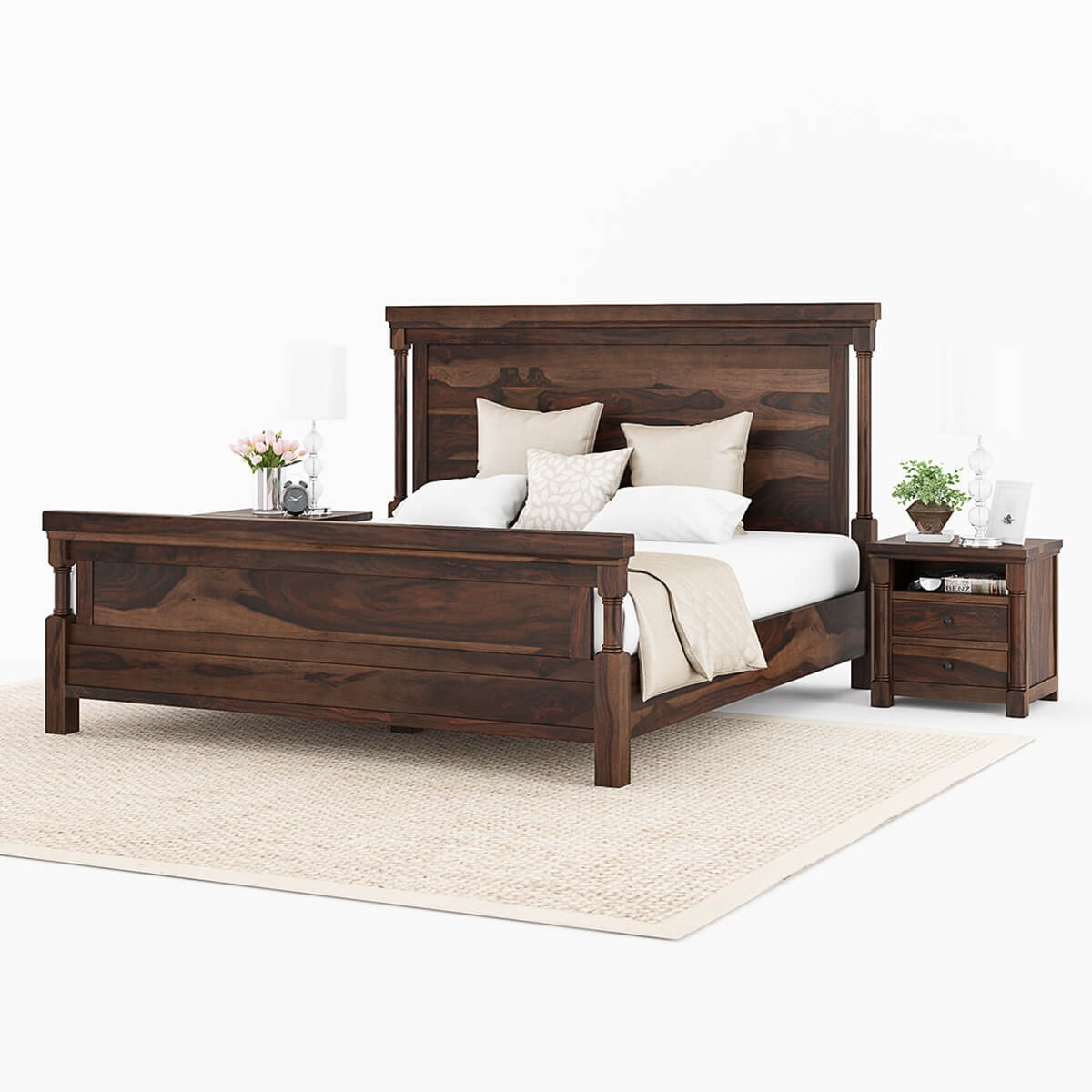 Transitional Bedroom Sets: Pioneer Transitional 7 Piece Bedroom Set