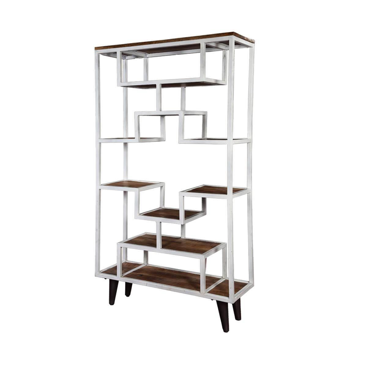Ystad 39 Mid-Century Modern Geometric Bookcase