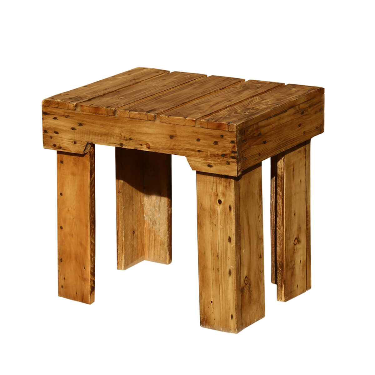 Newcastle Handcrafted Pallet Wood Stool