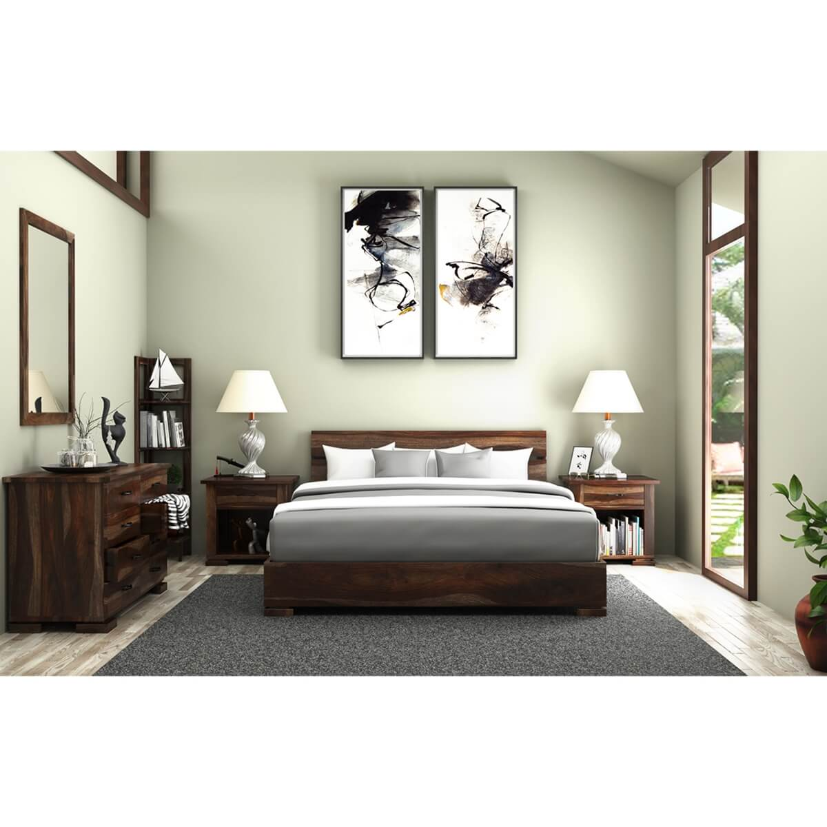 Athena 5 Piece Bedroom Set