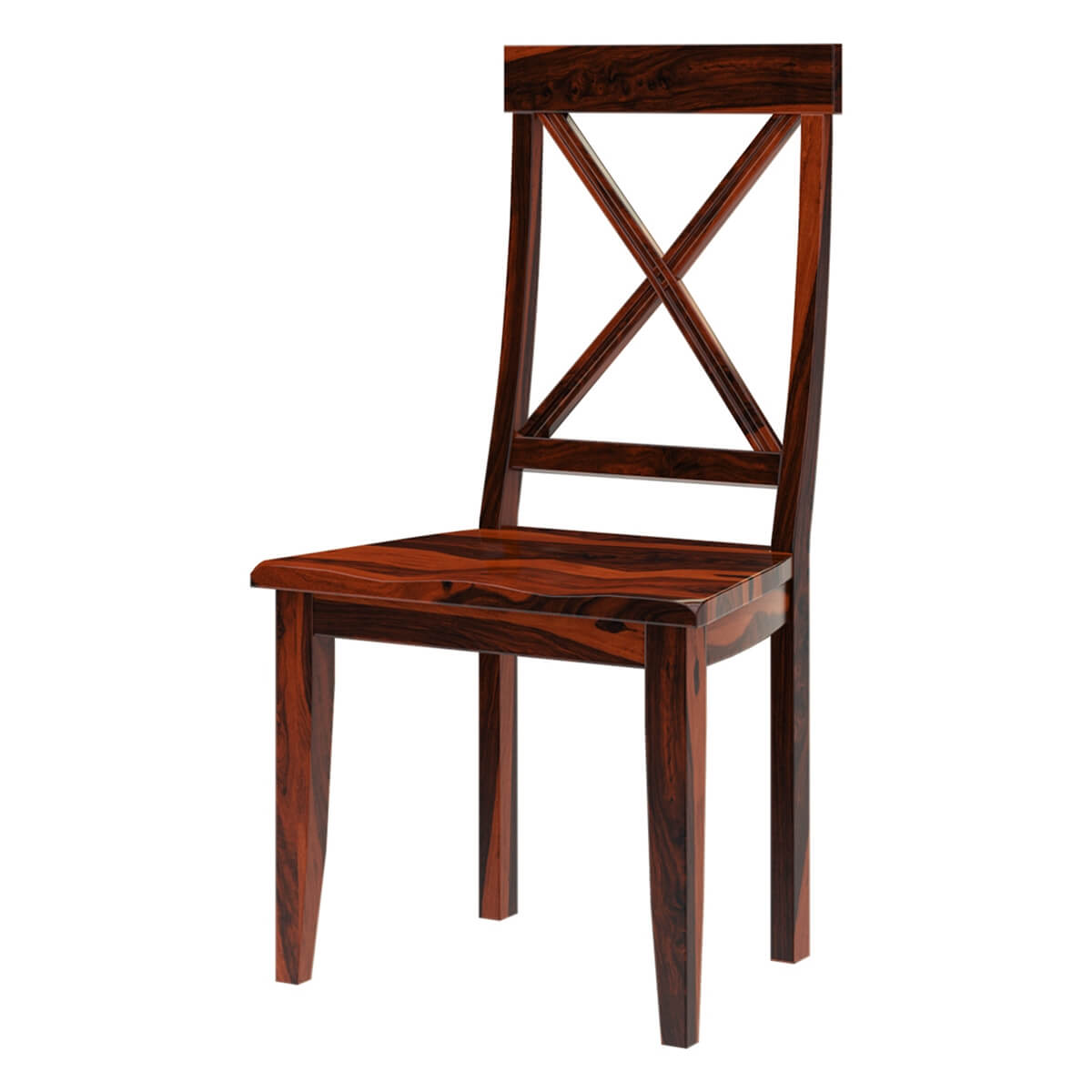 Missouri Solid Wood Cross Back Dining Chair