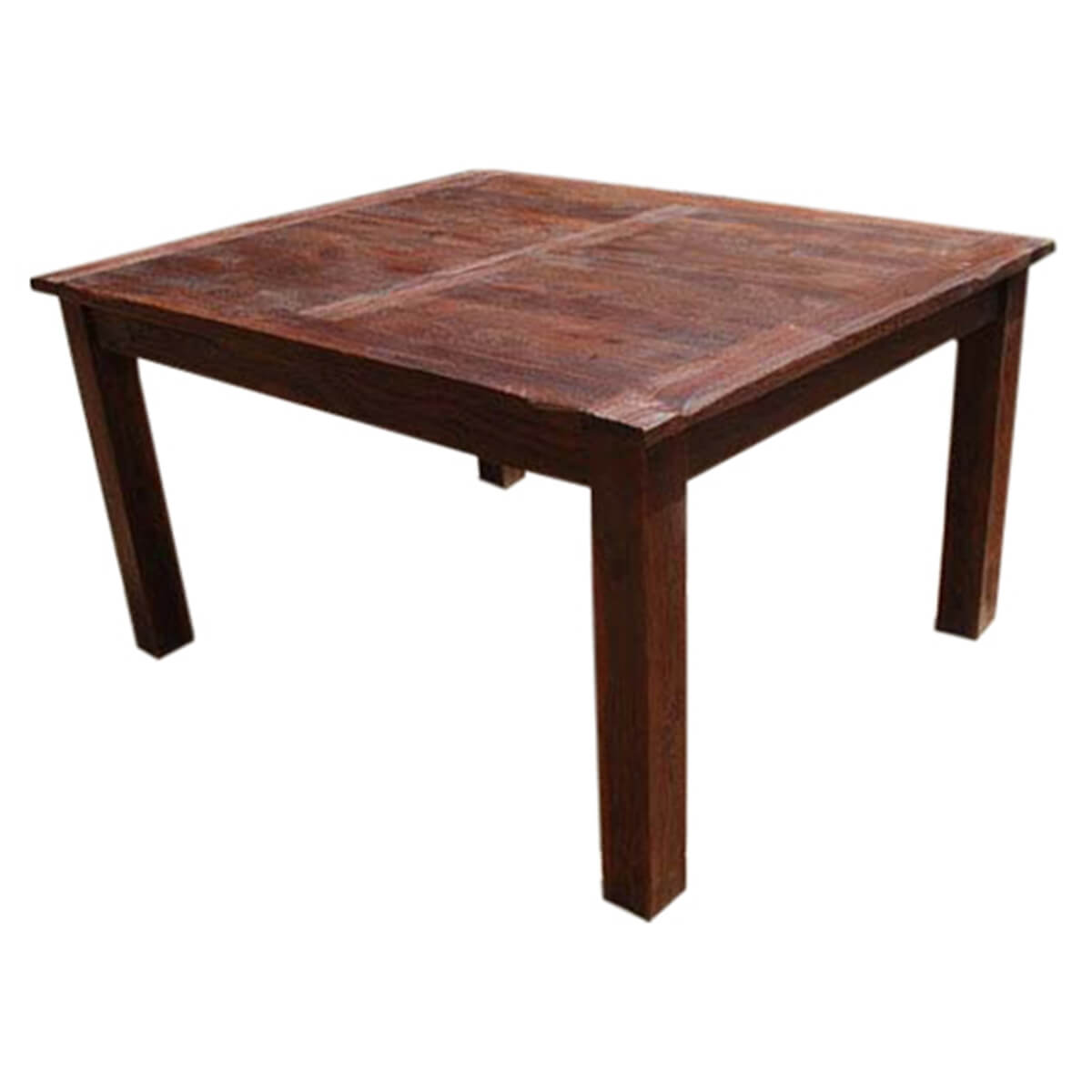 Rustic Solid Wood Appalachian Dining Room Table & Chair Set