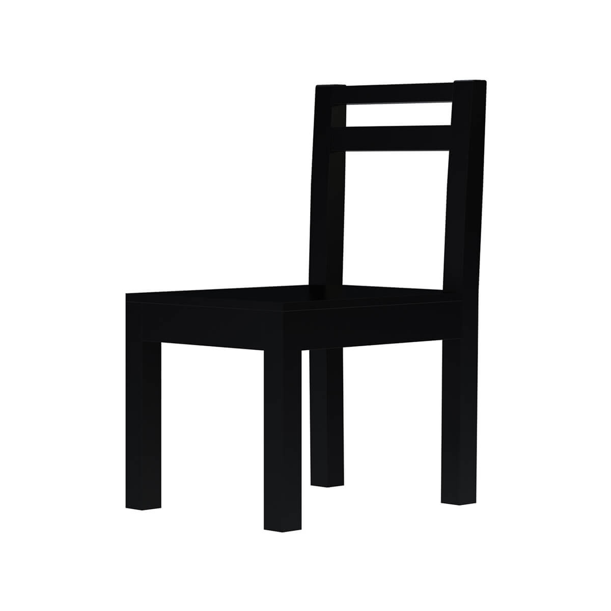 Arcadian Modern Style Rustic Solid Wood Dining Chair