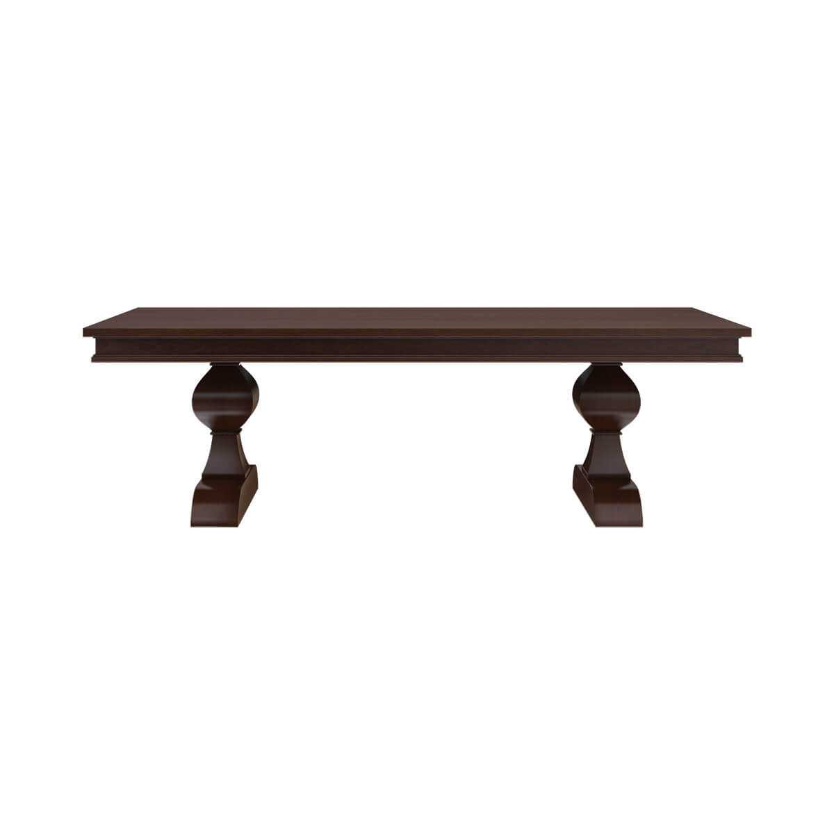 Tannersville Solid Mahogany Wood Dining Table & Chair Set ...